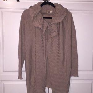MOTH Anthropologie cape sweater